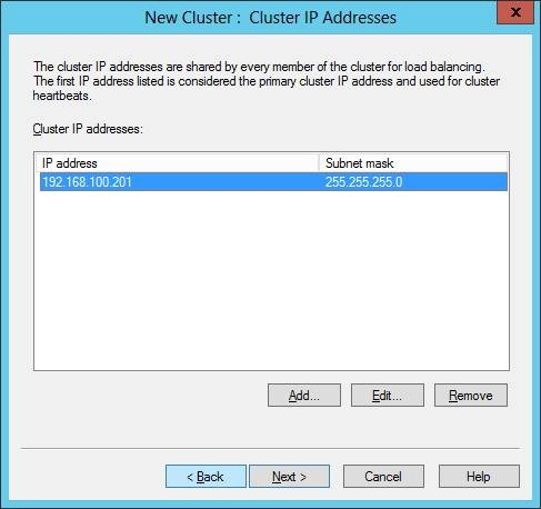how to use network load balancing in windows server 2012