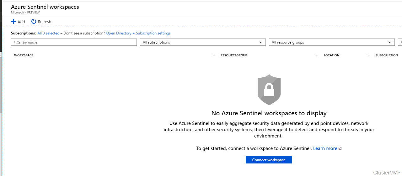 First look on the new Azure Sentinel cloud-native with Azure