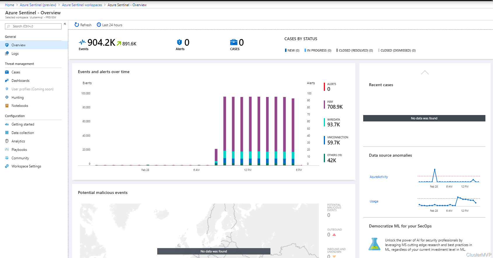 First Look On The New Azure Sentinel Cloud Native With
