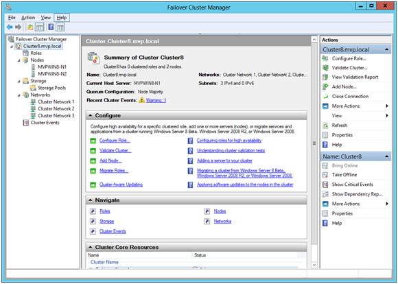 how to create new server in sql server 2012