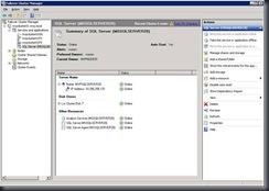 SQL 2008 cluster