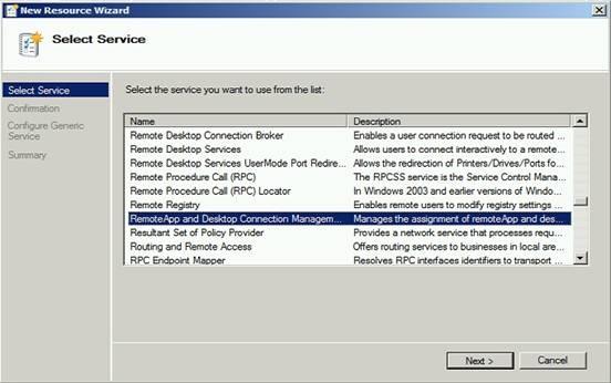 Remote desktop connection broker high availability