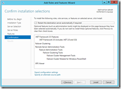 How To Create a Windows Server 8 Cluster Windows Server 2012 Cluster