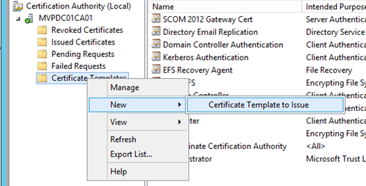 Hyper v replica certificate based with your own root authority image image yelopaper Images