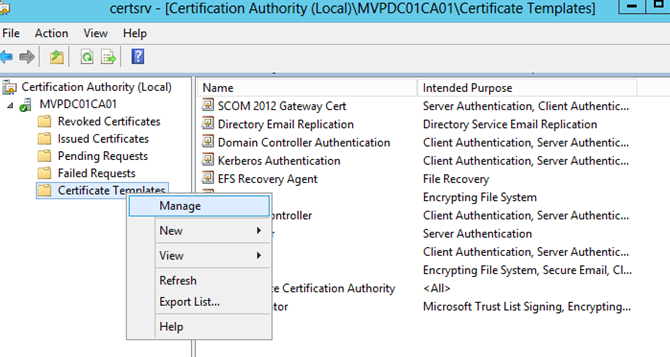 Hyper v robert smit mvp blog give the certificate a nice name like hyper v replica authentication yadclub Image collections