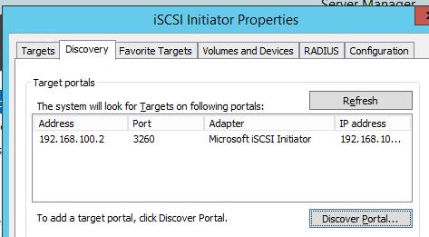 Right way to configure #ISCSI #initiator in #Windows Server