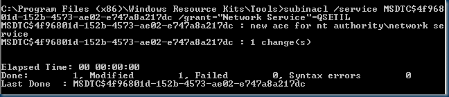 """OLE DB provider """"SQLNCLI10"""" for linked server """"SQL instance name"""" returned message """"Cannot start more transactions on this session"""