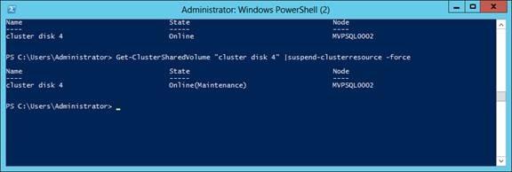 Windows Server 2012 Added Bitlocker to CSV How to configure