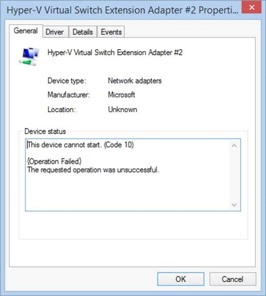 Windows Server 2012 R2 update thoughts hyper-v virtual Ethernet