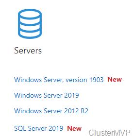 Windows Server 2019 Cluster vs Windows Server 2016 Cluster