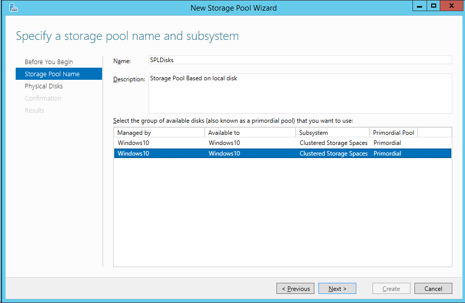 Windows server 2016 with storage spaces direct building for Windows direct