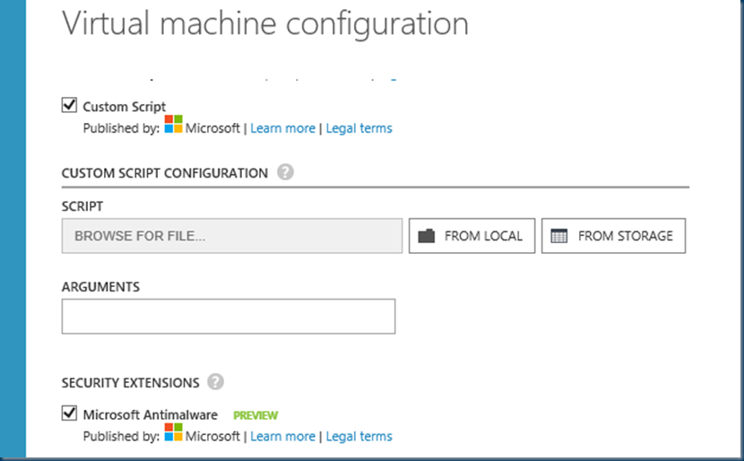 Microsoft #Azure #Security Extensions #SCEP @TechEd_NA