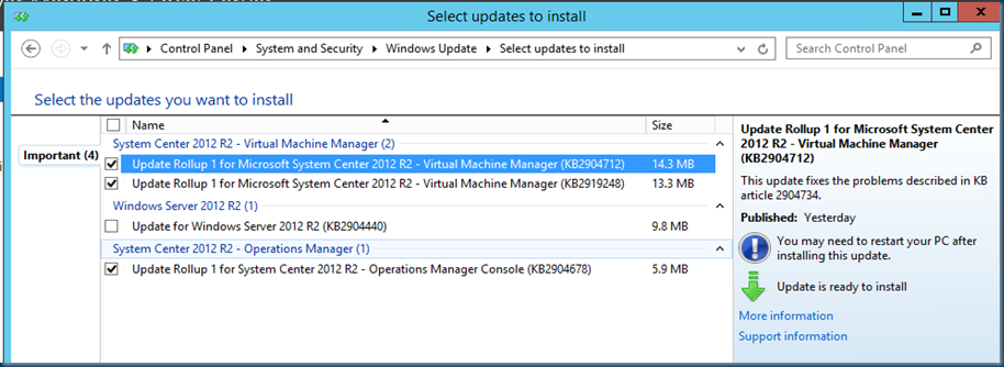 System center software defined storage windows server for Window is not defined