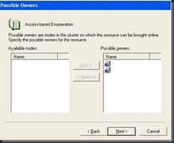 Access-based Enumeration (ABE) Fileshare